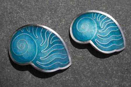 Nautilus Shell Pendants