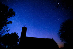 Night Sky & St Peter\'s Church