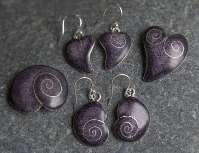 Purple Hearts And Shells