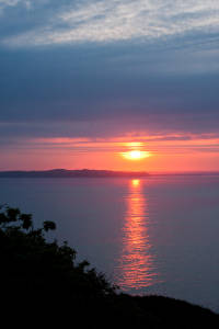 Sunset Seen From Sark