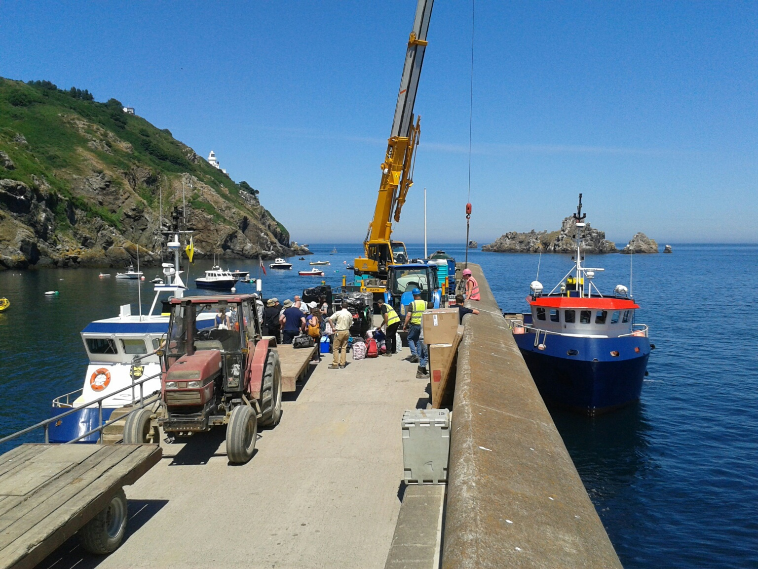 Island Of Sark Tourism In August