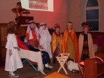 The silent nativity play by Class One