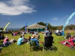 Soaking up the sun & atmosphere at Sark Folk Festival