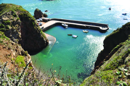 Swimming in Sark