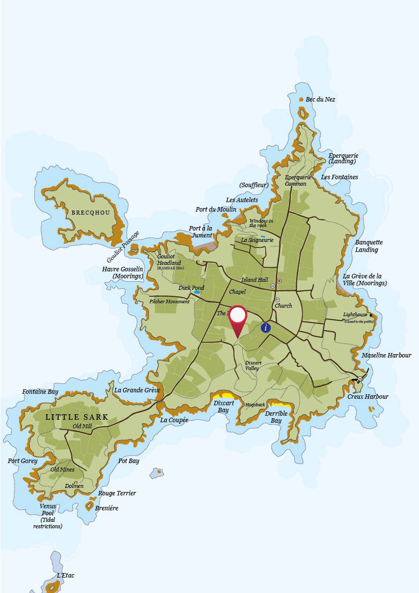 Map for stocks hotel and old stable shop sark island tourism map for stocks hotel and old stable shop gumiabroncs Gallery
