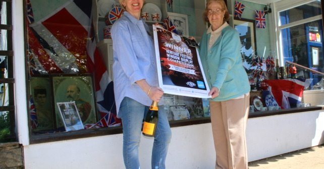 Winner Heritage Window Display Competition