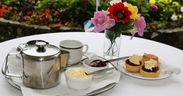 Winner of the Cream Tea Competition is …