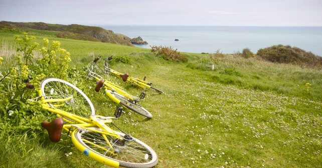 Explore Sark by bike!
