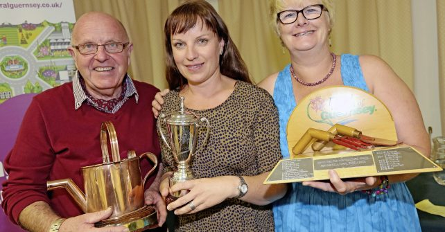 Sark cleans up at the Floral Guernsey Awards