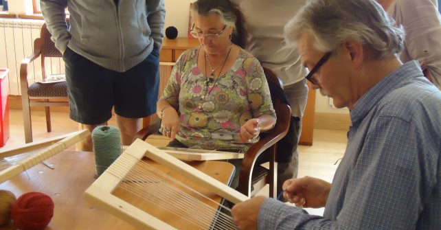 Sark Tapestry weaving 2pm
