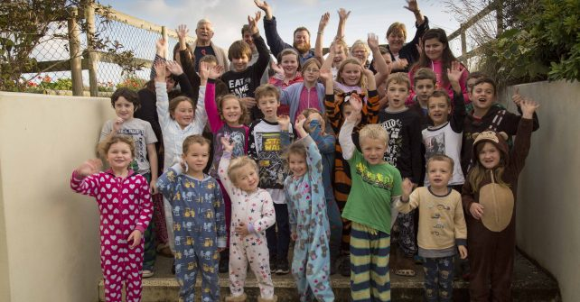 PJ Day on Sark For the Poppy Appeal