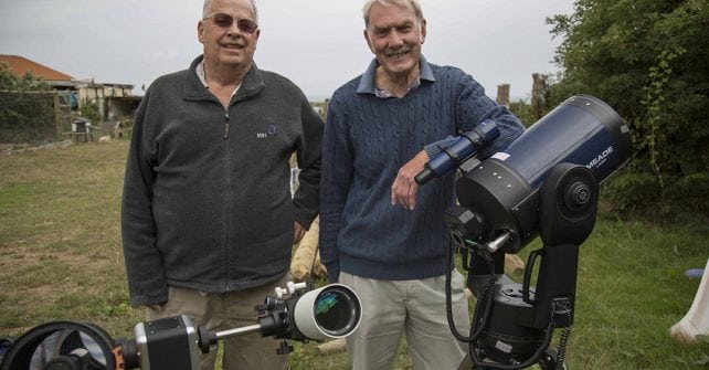 Top Astronomers on Sark for Meteor Watching