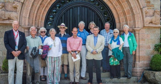 Sark visits Jersey for the 450th Charter Anniversary Celebrations