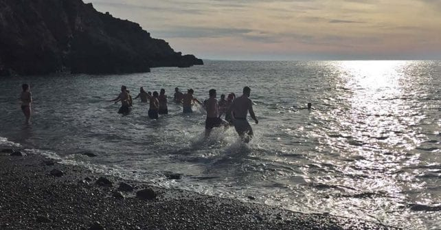 Boxing Day Bathers