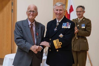 Dr Richard Axton Receives His MBE.